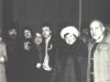 Farewell to Taratutas. From the left: Faina Taratuta, Vladimir Berlin, Vera Sheiba, Ida Taraatuta, Natan Rodzin, Mila Kovshilovskaya, Aba Taratuta. Pulkovo airport in Leningrad, January 3, 1988. Photo of Lev Sheiba. co RS