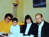 Ida Taratuta, Misha Taratuta, Gail Goldstein, Aba Taratuta, Leningrad, December 1973,  co RS