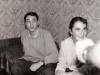 At a farewell party. Arkady Boguslavsky, Yulia Katznelson. Leningrad, August 1988, co RS