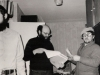 From the left: Grigoii (Zvi) Wasserman, Leonid Praisman (from Moscow), Yakov Gorodetsky. Leningrad, 1980s, co RS