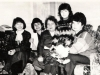 At the wedding of Alik Burshtein. From the left: Tamara Krasilnikova, Lena Dynina, ?, Alina Burshtein, Irina Burshtein. Leningrad, December 16, 1986. co RS