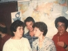 From the left: Gregory Genusov?, ?, Yakov Rabinovich, Lena Genusov, Ida Taratuta. Leningrad, 19??. co RS