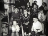 Purimshpiel in the Lifshitzs' apartment. Children-spectators. Leningrad, 1984, co RS