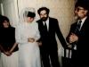 Clandestine wedding in  Leningrad, Jan. 1986. co RS