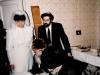 Clandestine wedding in  Leningrad, Jan. 1986.