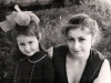 Elena Dzhanashvili with her daughter Yana. Leningrad, 1983, co RS