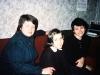 Galina Zelichenok, Masha Lifshitz, Anna Lifshitz, Leningrad, 1986, co Frank Brodsky