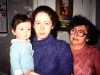 Aliya and Marina Furman and mother of Marina, Leningrad 1987, co Frank Brodsky82443318-sld-001-0314