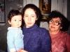 Aliya and Marina Furman and mother of Marina, Leningrad 1987, co Frank Brodsky82443318-sld-001-0314