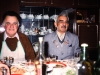 Mikhail Kalindarev and his cousin Solomon from Middle Asia at Taratutas' farewell party, Leningrad 1987, co Frank Brodsky