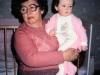 Marina Furman' mother and Aliya Furman, Leningrad 1987, co Frank Brodsky