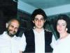 Boris and Alla Kelman with their son Efim?. Leningrad, 1988, co RS