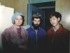 From the left: Evgenia  Palanker, Michael Elman, Alik Burshtein. Leningrad, 1986, co RS