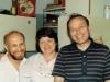 From the left: Boris Kelman, Galina and Roald (Alec) Zelichonok. Leningrad, 1986, co RS