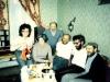 From the left: Faina Gitlin, Alla Kelman, Leonid Gitlin, Boris Kelman, Michael Beizer, Boris Deviatov. Leningrad, 1986, co RS