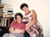 From the left: Ida Taratuta, Rimma Sosna. Leningrad, 1986, co RS
