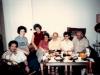 From the left: Lev Sheiba, Elena Sheiba (daughter), Vera Sheiba, Ida and Aba Taratuta, Eva and David Leikhtman. Leningrad, 1986, co RS