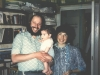 Gregory (Tzvi) and ? Wasserman with their baby. Leningrad, 1986, co RS
