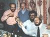 Members of the LEA editorial board. From the left: Boris Kelman, Leonid Gitlin, Michael Beizer, Shimon Frumkin. Leningrad, Sept. 1987, co RS