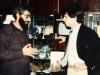 Michael Beizer and David Grossman, US Consul in Leningrad.  Leningrad, 1986, co RS