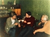 From the left: Yuli Kosharovsk​y, Senator Chuck Grassley, Arkady Mai, Moscow, 1983. co RS
