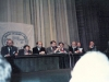 Congress of the Jewish organizations and communities in the USSR. From the right:  first – Yosef Begun, third – Vladimir Slepak,  Michael Chlenov, Grigori Krupnikov,  ???; Moscow, 1990, co RS