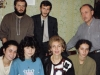 Leiblers meet with second generation group in Moscow, 1988