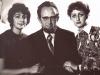 Elena, Victor, Marina Polsky, Moscow, 1974,  co RS