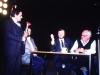 Mikhail Chlenov, Michael Neidich, ?, Leon Uris, Moscow, 1989, co Frank Brodsky