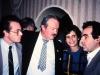 Alexander Shmukler, Alexander Ostrovsky, Judith and Emanuel Lurie, Moscow, 1989, co Frank Brodsky