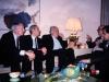 Frank Brodsky co, Yuri Sokolov, Leon Uris, ?, Mikhail Chlenov in the meeting in US embassy, Moscow, 1989