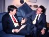US diplomat with Alexander Shmukler, Moscow, 1989, co Frank Brodsky