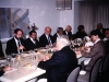 embassy luncheon, , Moscow, 1989, co Frank Brodsky