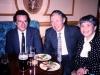 Alexander Shmukler, Igor and Inna Uspensky, Moscow, Hotel Savoy, 1989, co Frank Brodsky
