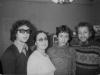 Alexandr, Maria, Leonid, and Vladimir Slepak co, Moscow  1973