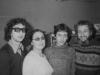 Alexandr, Maria, Leonid, Vladimir Slepak co, Moscow  1973