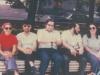 Connie Smukler, Yuli Kosharovsky, Dov Ramm, Pavel Abramovich, Enid Wurtman co, Bella Palatnik, Moscow, July, 1974