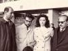 L-r: David Drabkin, Eitan Finkelstein, Tina Borodesky, September 1971, co V.Slepak