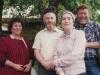 Enid Wurtman co, Zeev Raiz, Karmela Raiz, Stuart Wurtman, Moscow, May 1989
