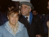Ester Carmi and Iosif Begun in  demonstration for Vaad, Moscow, December 1989
