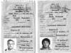 Evgenii and Rimma Yakir exit visas, co E. Yakir
