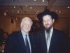 Frank Brodsky,  Rabbi Lazar Moscow 2001, co Frank Brodsky