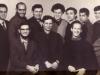 Hebrew teachers in Moscow.  Standing:  Boris  Ainbinder co,  Dan Roginsky, Israel Palhan , Anatoli Libgober, Zeev Shachnovsky,  Mikhail  Goldblat,  Alexei Levin;  seated - Sergei  Gurvits, Leonid  Yoffe, Mark Zolotarevsky., 1973