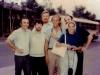 Igor Abramovich, Yuli Kosharovsky, Stuart Wurtman co, Joe Smukler, Iosif Beilin,Connie Smukler, Moscow, July 1974.