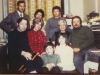 In the foreground Arye Ramm, Shoshana Ramm. Second row Dov and Bella Ramm, Bella's mother, Stuart Wurtman co. Third row: Igor Gurvich, Nina Tarasova, Yuli Kosharovsky, Moscow, November 1973.