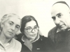 Ida Nudel visits Inna and Yosef Begun in Moscow after his release, 1987, co Enid Wurtman