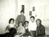 Enid Wurtman co, Maria Slepak, Alexander Slepak, Jules Lippert, Vladimir Slepak; standing: Leonid Slepak, Moscow, October 1976