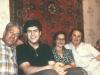 Leonid Bialy, Alexander Bialy, former POZ Ida Nudel, Judith Ratner, Moscow, 1986, co Enid Wurtman