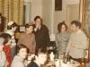 Sitting:  Shoshana Ramm, Gwen Goodman, Bella's Palatnik's mother; Bella Palatnik; Standing: Igor  Gurevich; Arie Ramm; Roma Rosenstein; Dov Ramm, Natasha and Grigory Rosenstein, Moscow, Pesach 1975, co Enid Wurtman