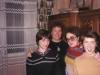 Masha Prilutsky, Enid Wurtman, Malka Prilutsky, and Vica Prilutsky, Moscow, May 1989, co Enid Wurtman